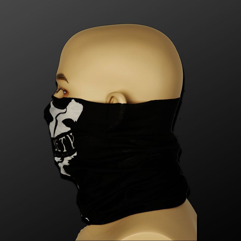 Limited Edition Notoriety Tubular Face Mask | Price: $20.00 USD